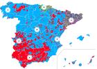 Variación del voto en las elecciones legislativas de 2015