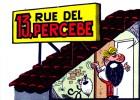 Página del cómic 13, rue del Percebe.