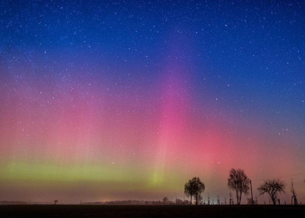 Fotos: Varias auroras boreales sorprenden en Reino Unido, Irlanda ...