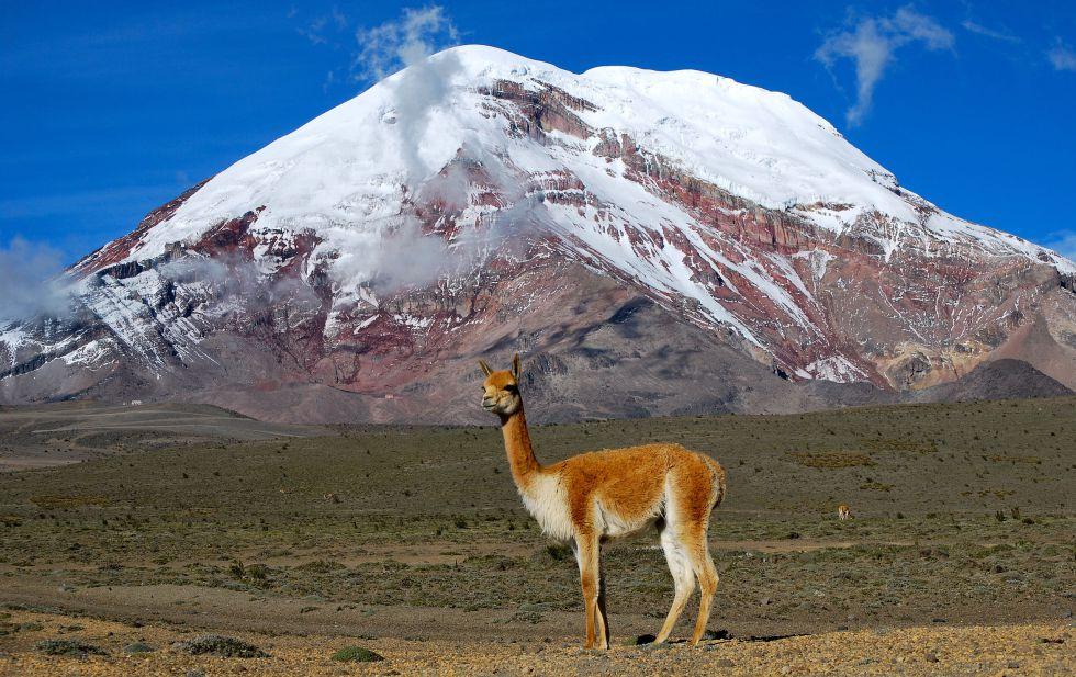 El volcán Chimborazo le quita un récord al Everest
