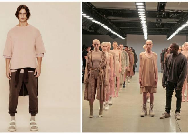 Zara  copia  la línea de ropa diseñada por Kanye West  04f9960e83835