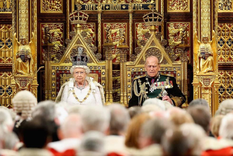 Fotos apertura del parlamento brit nico internacional for Foto del parlamento