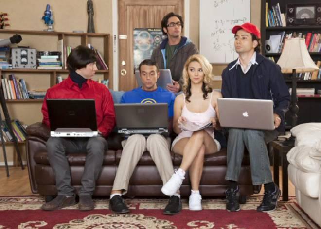Porn theory parody bang big
