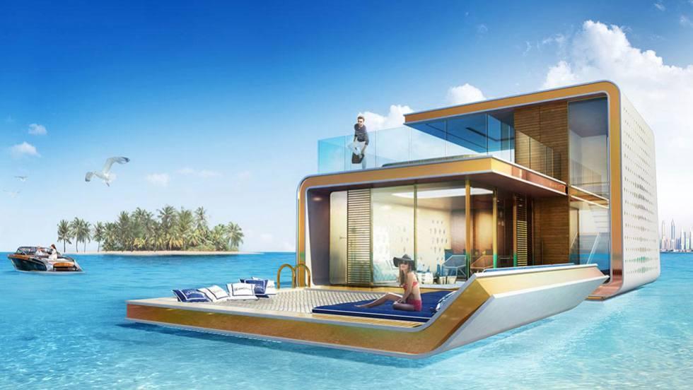 V deo se vende casa flotante con vistas al fondo del mar - Casas en el mar ...