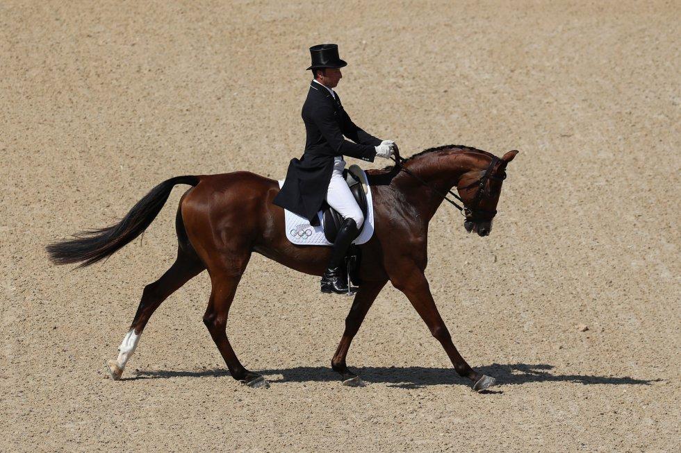 Tim Price, com o seu cavalo Ringwood Sky Boy.