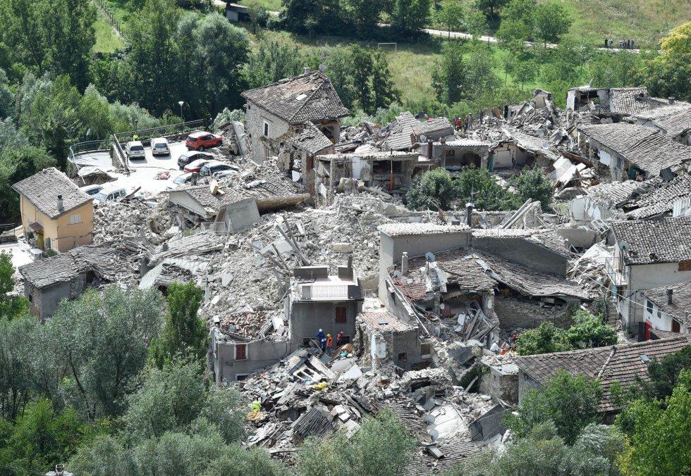 Resultado de imagem para terremoto em Itália, imagens