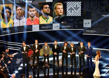 Gala de los premios The Best FIFA