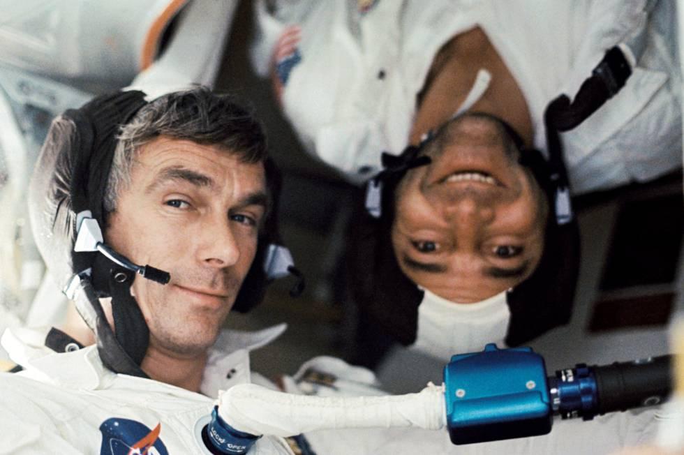 Muere Eugene Cernan, el último hombre en pisar la Luna