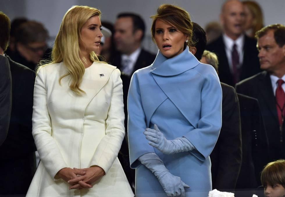 El glamour celeste de Melania Trump
