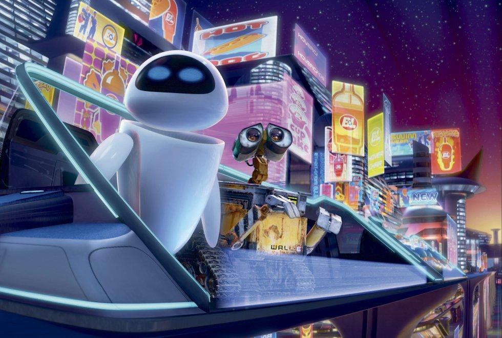 Esta obra de arte de Pixar nos pinta un futuro desolador en el que dos robots se las apañan para encandilar a la audiencia. Los humanos son en WALL-E actores secundarios, pero parece que no nos ha ido nada bien. Obesos, por lo general bordes y siempre con una pantalla delante (algo no tan distinto a lo que pasa ahora), se mueven en unos sofás voladores que les llevan a todas partes y beben comida mientras les bombardean con anuncios. Todavía podemos mantener la vertical, pero este sofá con ruedas puede que nos lo ponga más difícil.