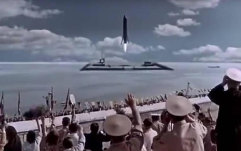 El cielo nos llama es una película rusa que aborda uno de los principales campos de batalla en la Guerra Fría entre Estados Unidos y la Unión Soviética: la carrera espacial. En esta cinta, una nave de cosmonautas rusos viaja a Marte y por el camino salva a otra de astronautas norteamericanos, menos experimentados y sin el debido entrenamiento. La nave, la Rodina (Tierra natal, en ruso), aterriza de vuelta en la Tierra de manera vertical, una hazaña conseguida hace poco más de un año por un cohete de SpaceX , la empresa de Elon Musk (el magnate de Tesla) que pretende colonizar el planeta rojo.