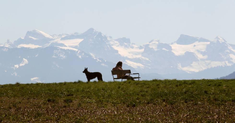 Suiza, sombríamente feliz