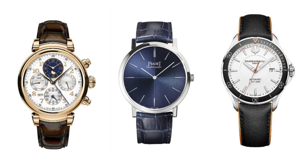 Relojes de lujo en estado puro