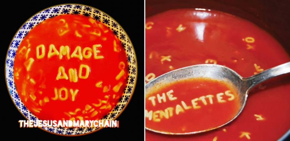La última portada de Jesus and Mary Chain y otros posibles plagios de discos