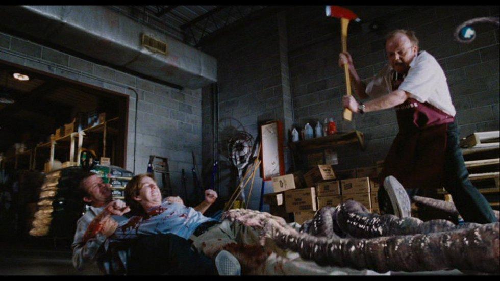 Stephen King estaba en un supermercado cuando una brusca tormenta se cernió sobre el lugar y los clientes quedaron atrapados durante algunos minutos. De esa experiencia y de los monstruos descritos por H. P. Lovecraft sacó King a esta raza alienígena que han invadido la Tierra. Una serie de bichos en forma de insecto yo cefalódo que van creciendo a medida que la tensión va desquiciando más y más a los protagonistas. En manos de Frank Darabont los bichos se convirtieron en una metáfora sobre la paranoia post 11-S que invadió los Estados Unidos.