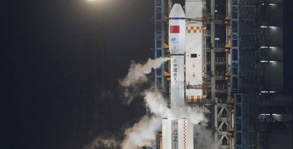 China lanza al espacio su primera nave de carga