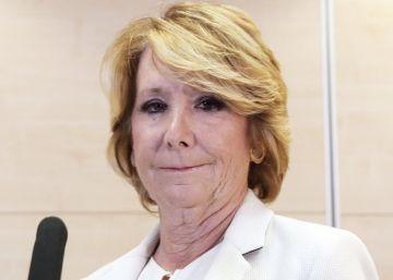 Esperanza Aguirre, ni tonta ni rubia