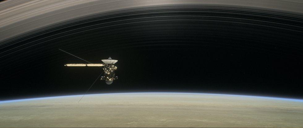 Cassini transmitió sus imágenes y otros datos a la Tierra después del encuentro. Los científicos de Cassini analizarán ahora su conjunto final de nuevas imágenes de radar de los mares y de los lagos del hidrocarburo que se extienden a través de la región polar del norte de Titán.