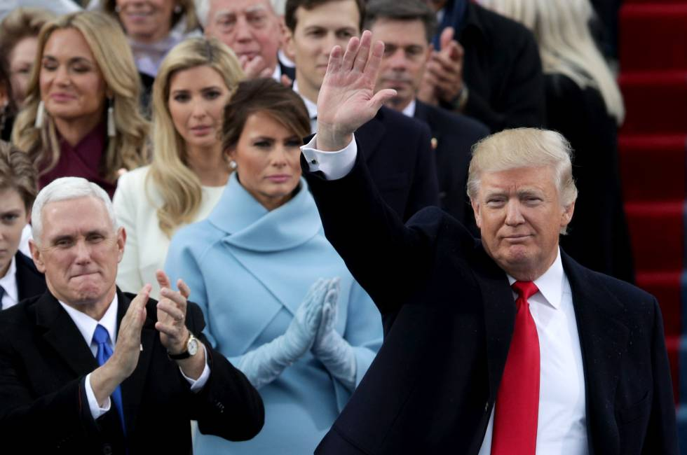 El arte gestual: los cinco desplantes de Melania a Donald Trump