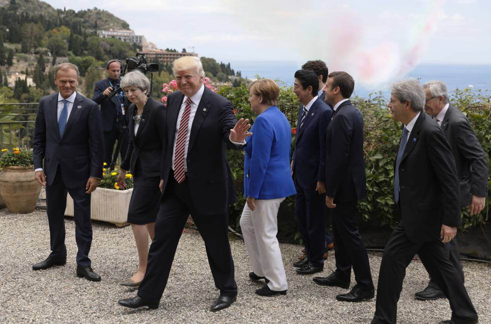 Los idus de mayo amenazan a Trump