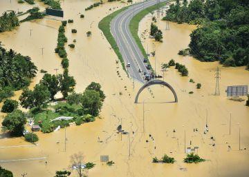 Sri Lanka bajo el agua