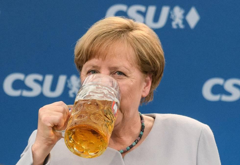 Advertencia de Merkel