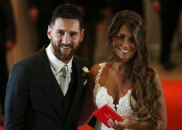 Lionel Messi y Antonella Roccuzzo, más que una boda