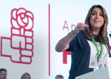 """Susana Díaz: """"Somos socialistas, nunca fuimos nacionalistas"""""""