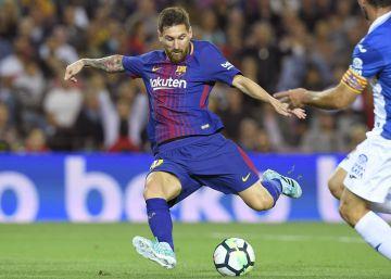 El Barça se impone con autoridad al Espanyol