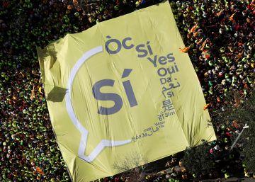 Diez años de escalada independentista en la Diada