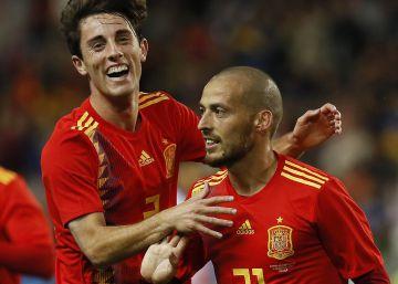 España se lo pasa en grande ante Costa Rica