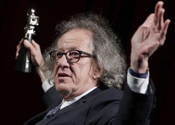 """Geoffrey Rush deja la Academia de Cine australiana tras ser acusado de """"conducta inapropiada"""""""