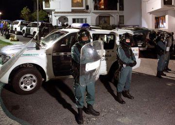 Dos muertos por arma blanca en una pelea multitudinaria en un pueblo de Málaga