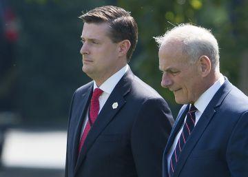 Las acusaciones de maltrato de un asesor ponen en la cuerda floja al jefe de gabinete de Trump