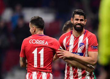 El Atlético encarrila la eliminatoria ante el Lokomotiv