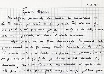 """""""Querido Alfonso"""", la carta a Guerra 12 días antes de su dimisión"""