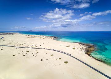 Solo Wonder Woman irá a la playa de las Dunas en Fuerteventura