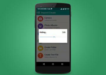 estas aplicaciones permiten ocultar fotos móvil padres desconocen