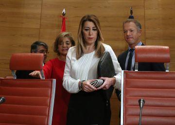 """Susana Díaz: """"No tengo una sola mancha y no tienen nada de lo que acusarme"""""""