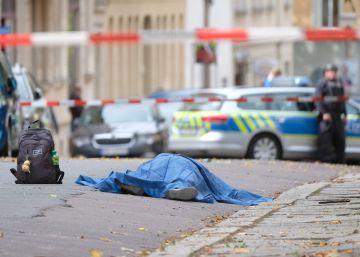 La Fiscalía antiterrorista investiga el ataque con dos muertos cerca de una sinagoga en Alemania