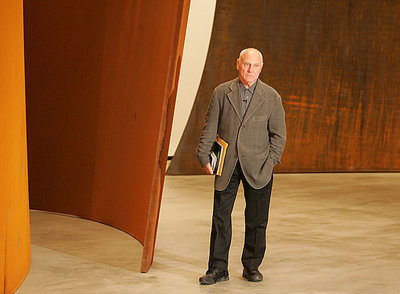 Richard Serra, durante una reciente visita a Madrid.- CRISTÓBAL MANUEL