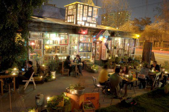 El restaurante vagabundo de hornecker en santiago de chile for Restaurant le jardin 02