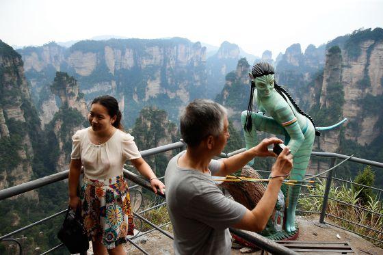 Las montañas de 'Avatar' | El Viajero en EL PAÍS: elviajero.elpais.com/elviajero/2014/03/13/actualidad/1394734322...