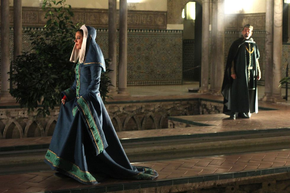visita nocturna al Alcázar de Sevilla.