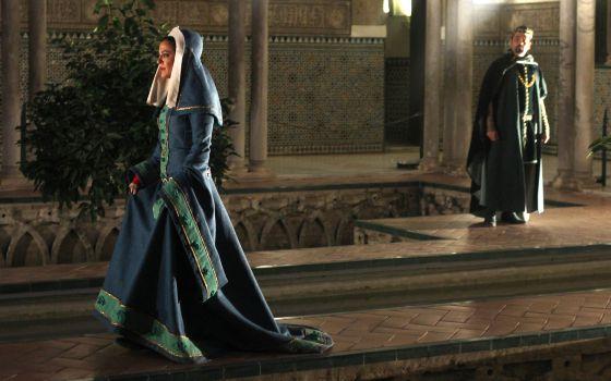 Noche con la reina el viajero el pa s for Cuarto real alcazar sevilla