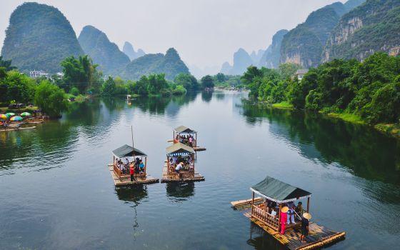Resultado de imagem para rio li china