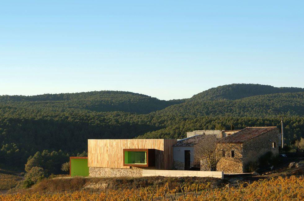 Fotos 16 bodegas emocionantes en espa a el viajero el pa s - Arquitectura pais vasco ...