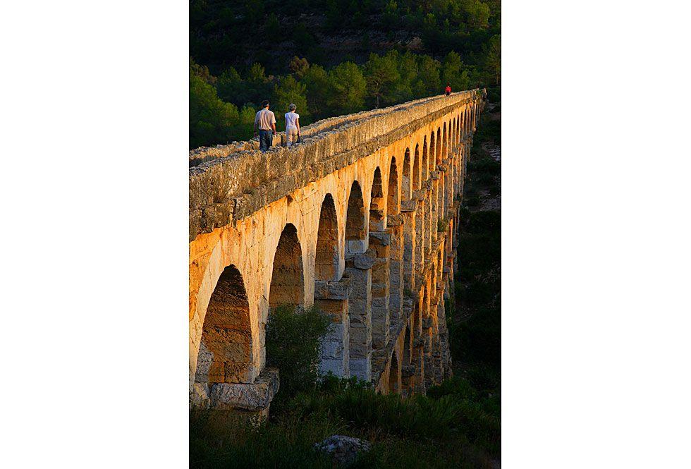Ruinas romanas de Tarraco, en Tarragona.