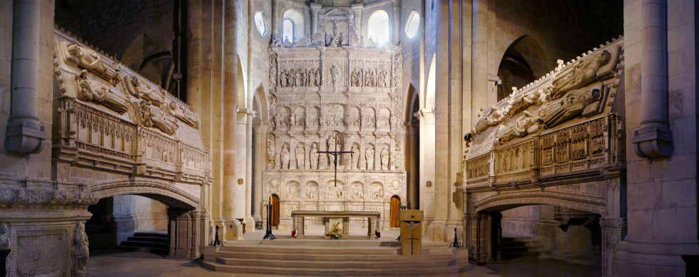 Monasterio de Poblet, en Cataluña.