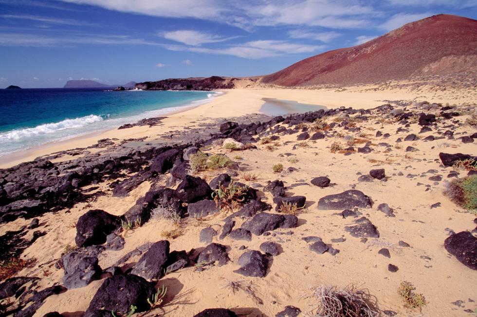 Las Conchas (Isla de La Graciosa, Teguise, Lanzarote)